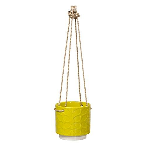 Design Löwenzahn kleine 10,2x 10,2cm Keramik Blumentopf zum Hängen ()