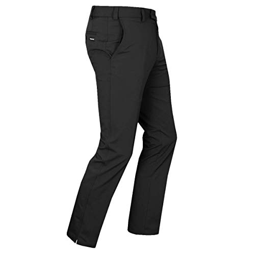 Stromberg Golf 2019 Hampton Tehnical Schnelltrocknend für Herren Golfhose Tapered Fit Black 38x33