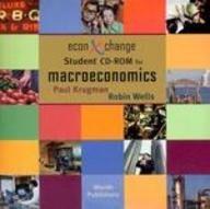 Macroeconomics Student Cd-rom