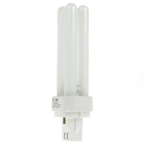 GE 13W G24d-1Biaxtm D poli interno starter in molto bianco caldo