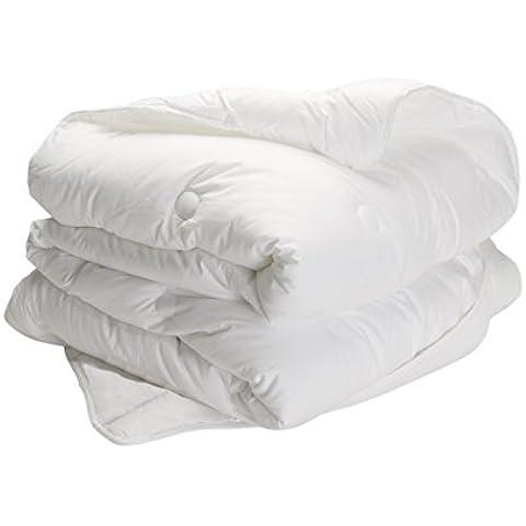 Pikolin Home Essential - Relleno nórdico de fibra, para invierno, 350 g/m2, 220 x 220 x 5 cm, color