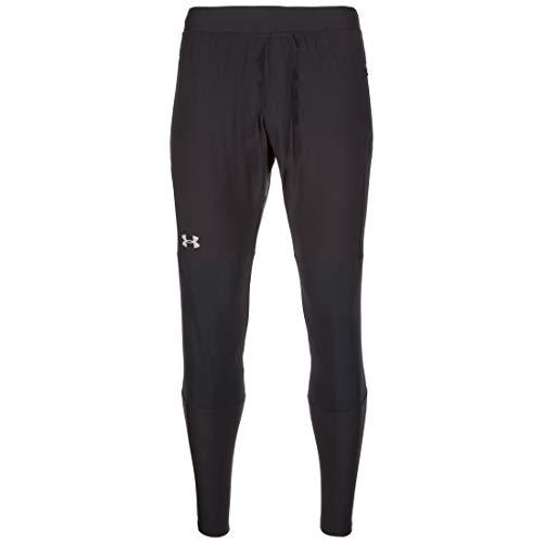 Under Armour, Vanish Hybrid Pant, Pantaloni Termici, Uomo, Nero (Nero/Steel), XS
