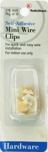 Radioshack-Mini rollo lámina adhesiva Clips de alambre