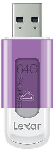 Lexar JumpDrive S50 Clé USB 2.0 64 Go Violet - LJDS50-64GABEU