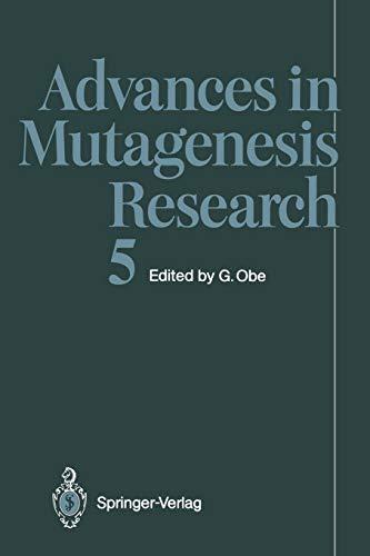 Advances in Mutagenesis Research (Advances in Mutagenesis Research (5), Band 5)