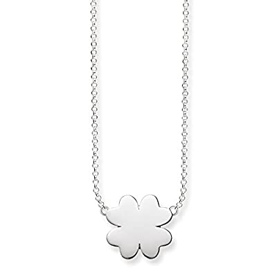 "Thomas Sabo Glam & Soul, Women necklace ""cloverleaf"", 925 Sterling silver"