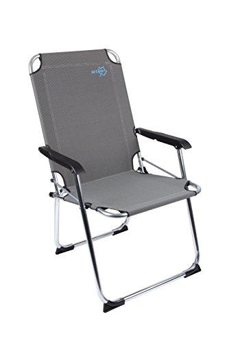 Preisvergleich Produktbild Bo-Camp Copa Rio XL - Klapp-Stuhl Aluminium sand 51x58x96cm Belastbarkeit 110kg