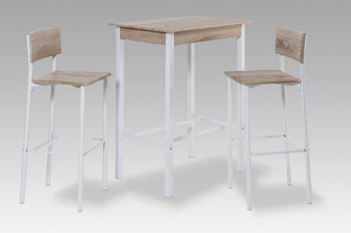 Reality Import R9909-38 Barset, Holz, Sonoma, 80 x 60 x 106 cm