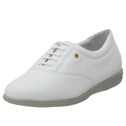 Easy Spirit Women's Motion Sport Lace-Up,White Leather,9 M (Spirit Easy Komfort-schuhe)