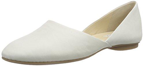 Ecco ECCO TAISHA, Damen Flache Hausschuhe, Weiß (WHITE02007), 41 EU (7.5 Damen UK)