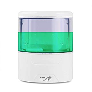 ZN&Z Seifenspender Sensor, Automatische Wand Seifendosierer Lotionspender IR-Sensor Touch-Free Seife Lotion Pumpe für Küche Badezimmer Hotel