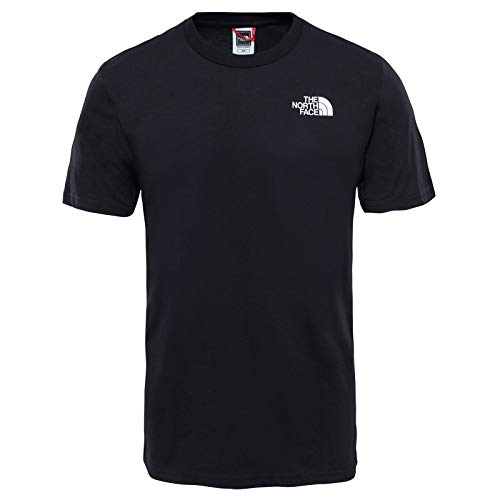 The North Face Herren Kurzarm Shirt Simple Dome Tee Tnf Black, L - The North Face V-ausschnitt-shirt