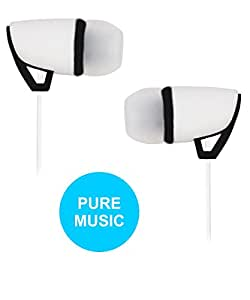 Jkobi Stylish Design Earphones Handsfree Compatible For Vernee Apollo -White