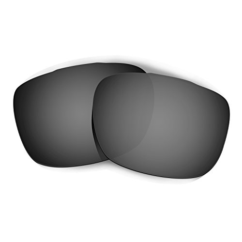 HKUCO Plus Mens Replacement Lenses For Oakley TwoFace Sunglasses Black Polarized