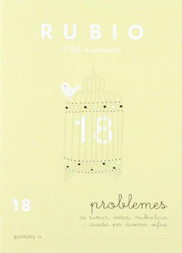 Rubio l'art d'aprendre. Problemes 18 por UNKNOWN