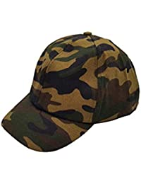 40e1a23c Vritraz Snapback Army Military Camouflage Printed Little Baseball Cap for  Baby Girls and Boys 3-