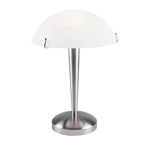 Lampe De Salon Touch Mirage Argentée En Métal