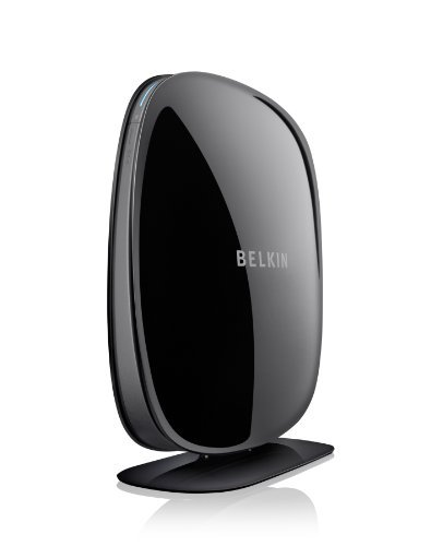Belkin F9K1102UK WLAN-Router Play N600 DB (Dual Band), Schwarz