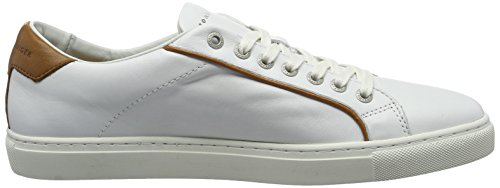 Tommy Hilfiger M2285ount 4a1, Baskets Basses Pour Hommes Blanches (blanc 100)