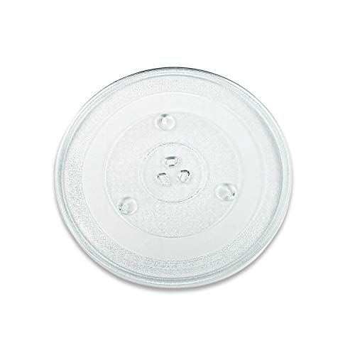 VIOKS Mikrowellenteller Teller Drehteller Glasteller für Mikrowelle Herd Durchmesser: 315 mm 31,5 cm 3 Noppen