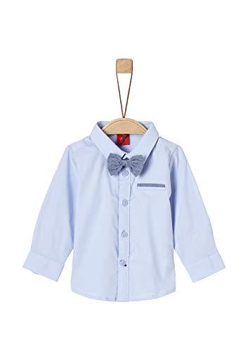 s.Oliver s.Oliver Baby-Jungen Hemd 59.902.21.7140 Blau (Light Blue 5075), Herstellergröße: 62