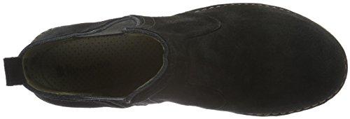 El Naturalista N996 Lux Suede Black/ Angkor, Stivali Chelsea Donna Nero (Black)