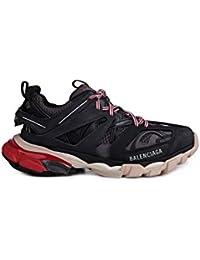 f68dced9173 Balenciaga Mujer 542436W1GB61002 Negro Cuero Zapatillas