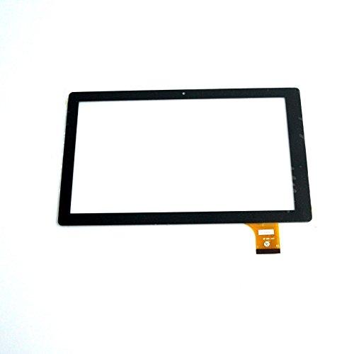 EUTOPING ® Weiße Farbe 10.1 Zoll Touchscreen - digitizer Alternative für Denver TAQ-10153