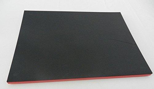 Werkzeugeinlage Systemeinlage Universaleinlage schwarz/rot (300 x 400 x 30 mm) 64,95 €/m²