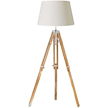 Dar BLY4943 Blyton 3 Light Floor Lamp Complete With