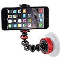 Joby Gorillapod Bras articulé avec support pour smartphone et ventouse Noir/rouge