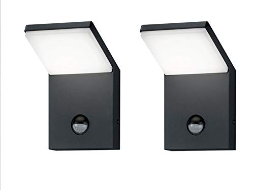 LED-Außenwandleuchte Farbe