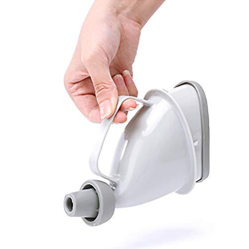lymty Tragbares Urinal, Unisex-Reise-Mobile-Toilette Urinal-Wiederverwendbare Toilette-Töpfchen-Trichter für Camping, Wandern und Notgebrauch im Freien