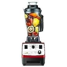 Batidora Profesional de vaso MOHumans 777D BPA Free Roja. 2 HP, caballos de potencia. BATIDORAS PROFESIONALES