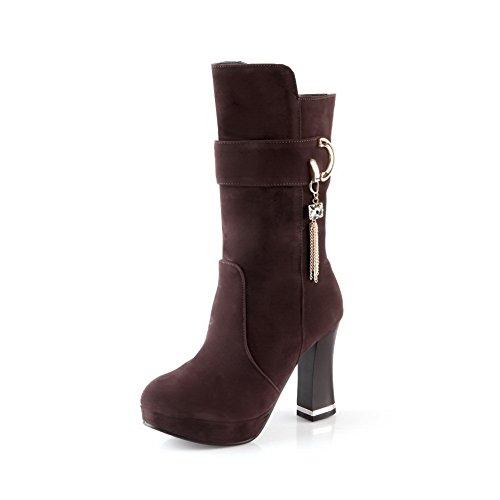 A&N ,  Damen Chukka Boots , braun - braun - Größe: 37 (All Frauen Saints Boots)