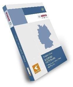 TELEATLAS Blaupunkt Deutschland 2010 / 2011 DX + Hauptverkehrsstrassen Europas passend fuer...