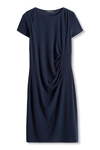 ESPRIT Collection Damen Kleid 086eo1e036 Blau (NAVY 400)