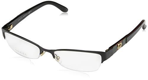 Gucci Damen GG-4213 Brillengestelle, Schwarz, 53