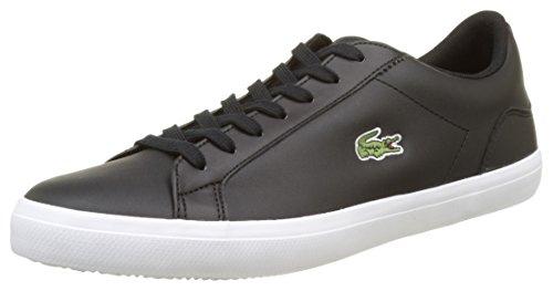Lacoste Herren Lerond Bl 1 Cam Sneaker, Schwarz (Blk), 43 EU (Flat Hat Club)