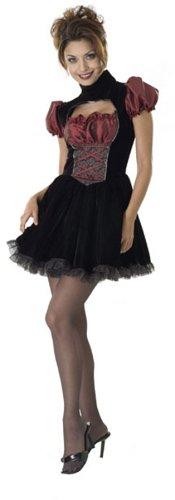 Französin Kostüm - Französisches Mädchen Französinnenkostüm Kostüm Französin Gr. STD