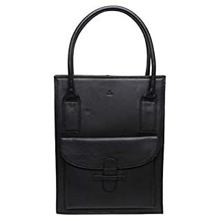 Adax Tina Tall Ragusa Shopper in black