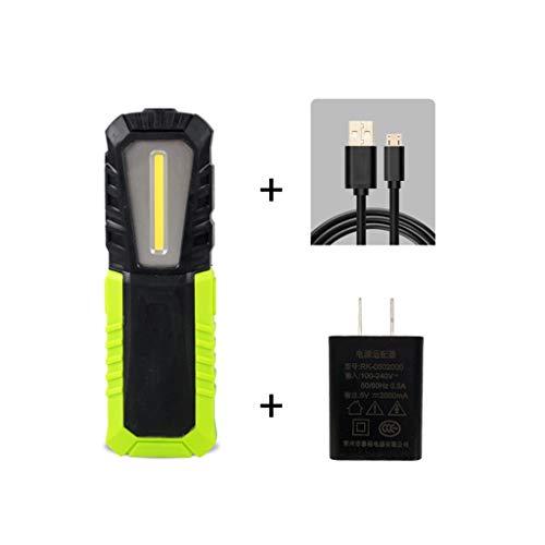 YROD light Arbeitslampe, Fischen-Licht Suchscheinwerfer Licht Füllen Flutlicht Autoreparatur Nacht Notfall Multifunktion Laternen Draussen Taschenlampe (Farbe : 4400mAh(B))