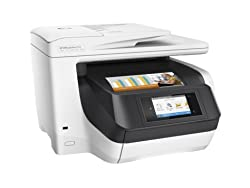 HP OfficeJet Pro 8730 All-in-One Color Photo Printer - With Mobile Printing (Print, Scan, Copy, Fax, Network, Wireless, Duplex, NFC)