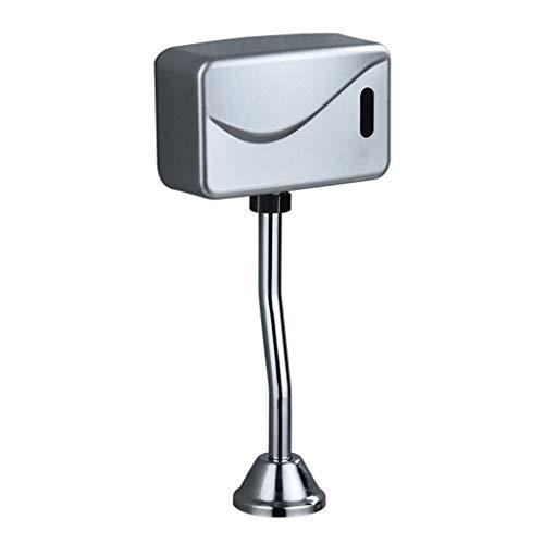 ische Elektrische Urinal Spülventil Sensor Infrarot Berührungslos Freiliegende Wandhalterung DC 6 V Zubehör - Silber ()