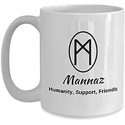 Mannaz Runa Taza de café