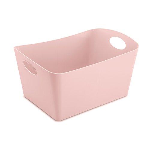 koziol Aufbewahrungsbox Boxxx L, Kunststoff, powder pink, 31 x 48 x 23.7 cm
