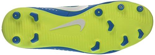 Nike Mercurial Vortex Iii Njr Fg, Chaussures de Football Homme Turquoise (Blue Orbit/white/blue Orbit/armory Navy/volt/volt)