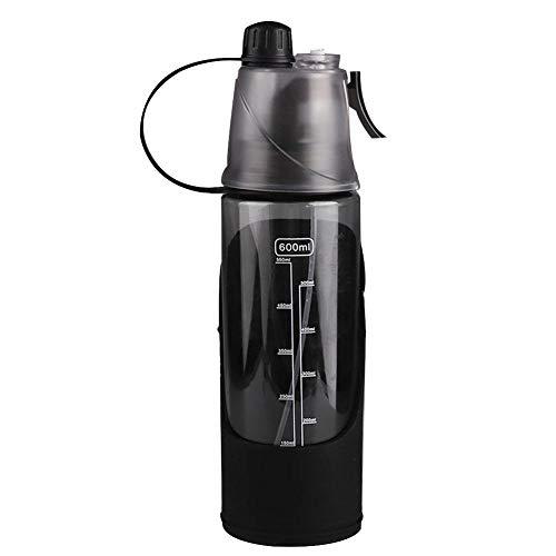 Nahrungsmittelgrad-silikon-spray (Hundewasserflasche Tragbarer Trinkbecher für Haustiere Fashion People Pet Auslaufsicherer Trinkbecher für Hunde zum Spazierengehen im Freien(Schwarz))