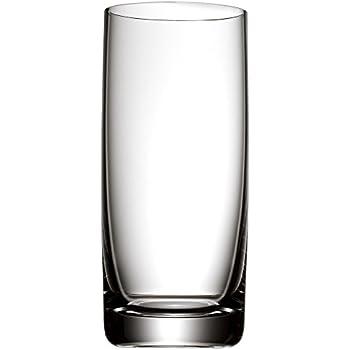 WMF Easy Longdrinkglas 350 ml, Cocktailglas, Kristallglas, spülmaschinengeeignet, bruchsicher