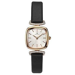 Accurist Damen Analog Quarz Uhr mit Leder Armband 8176